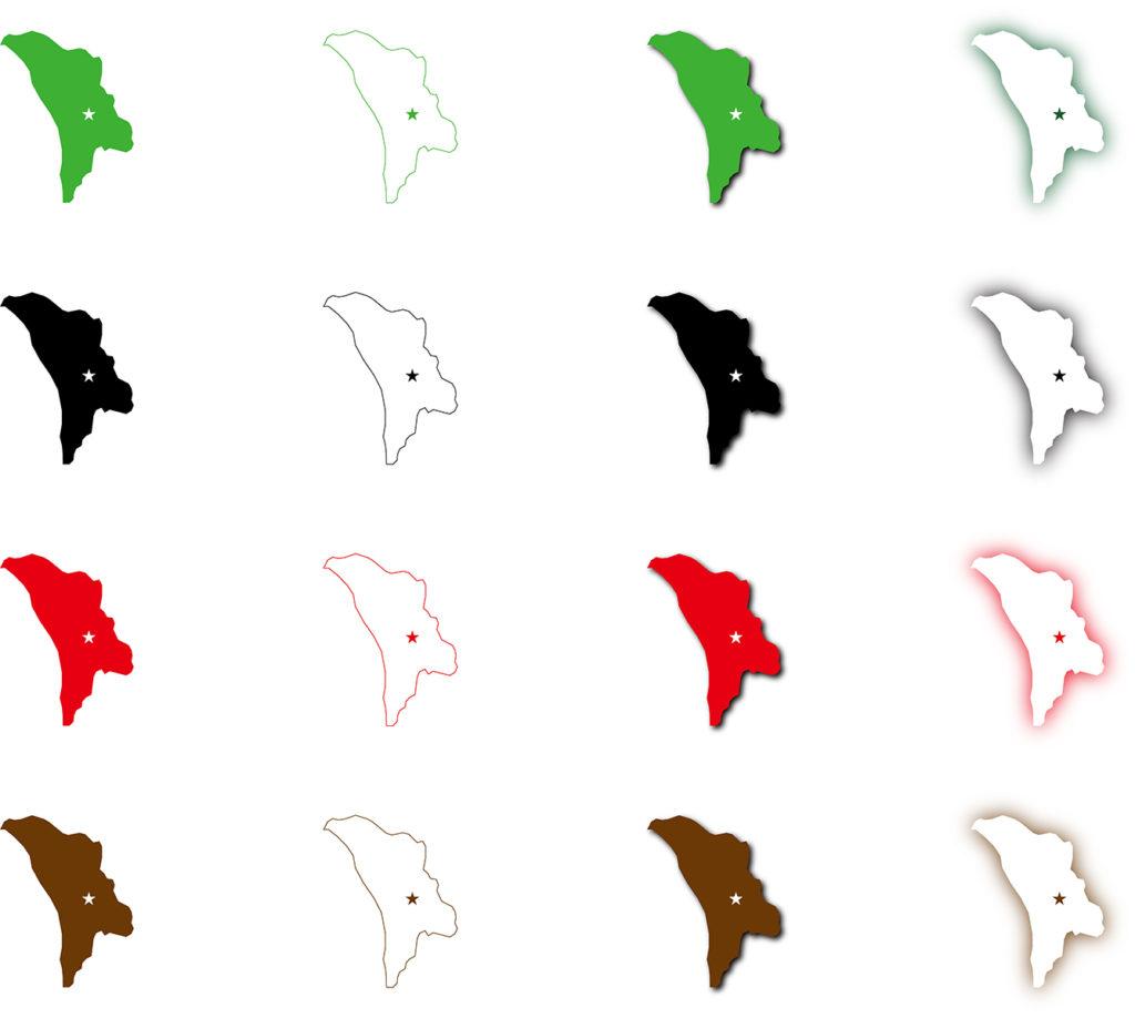 モルドバ地図