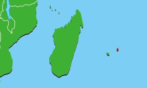 モーリシャス地図