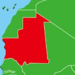 モーリタニア地図