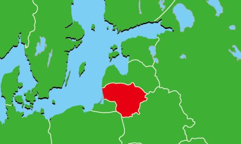 リトアニア地図
