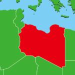 リビア地図