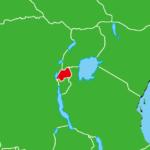 ルワンダ地図