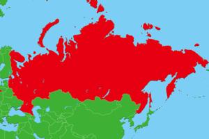 ロシア地図