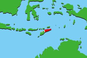 東ディモールの地図