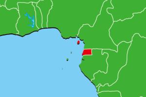 赤道ギニア地図