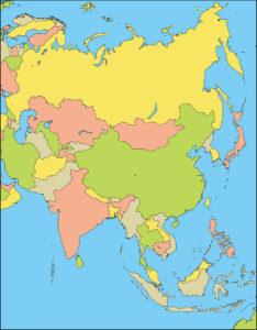 アジア地域-国別-海