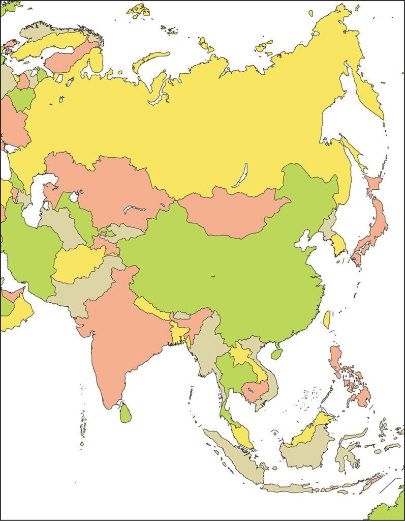 アジア地域-国別