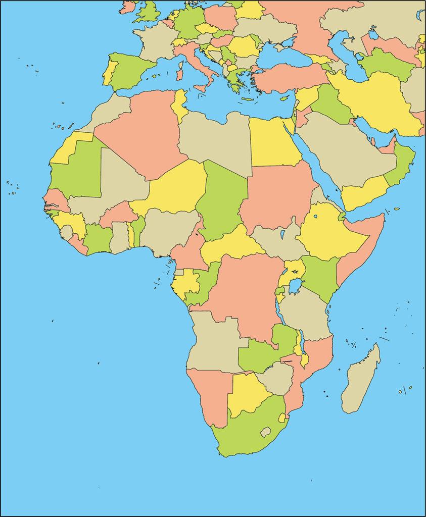 アフリカ地域-国別-海