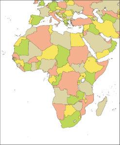 アフリカ地域-国別