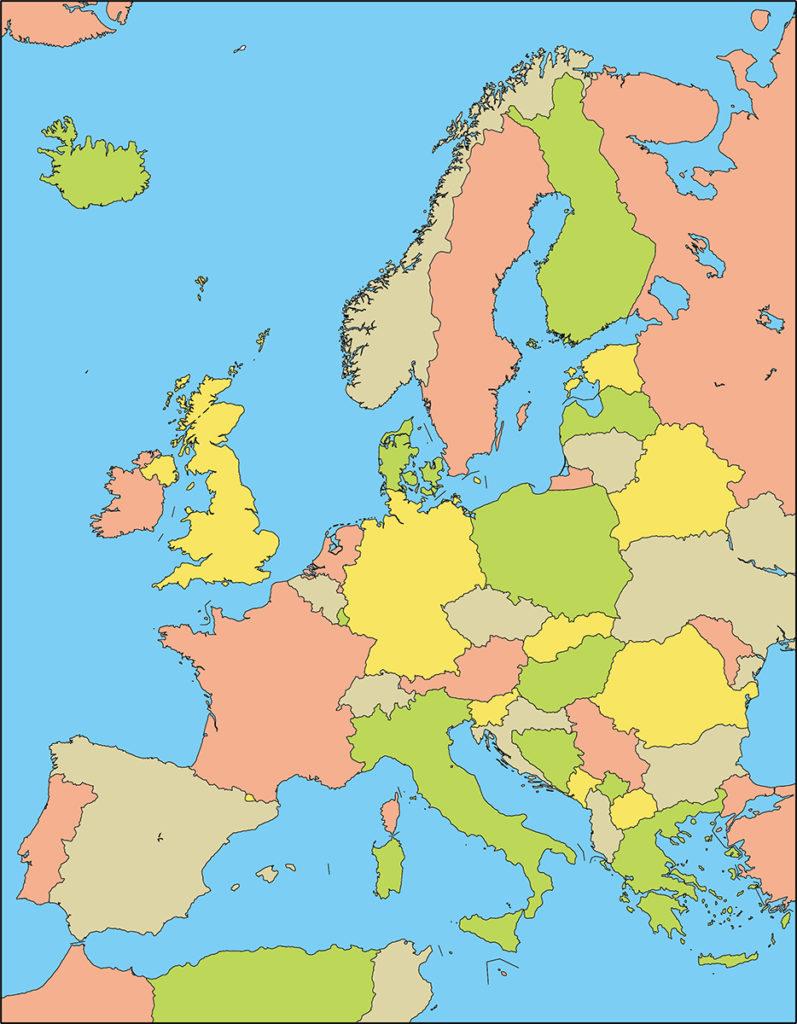 ヨーロッパ地域-国別-海
