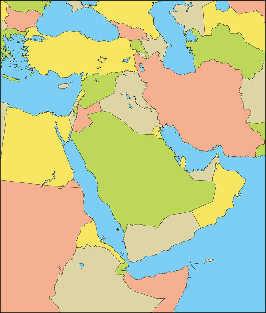 中東地域-国別-海