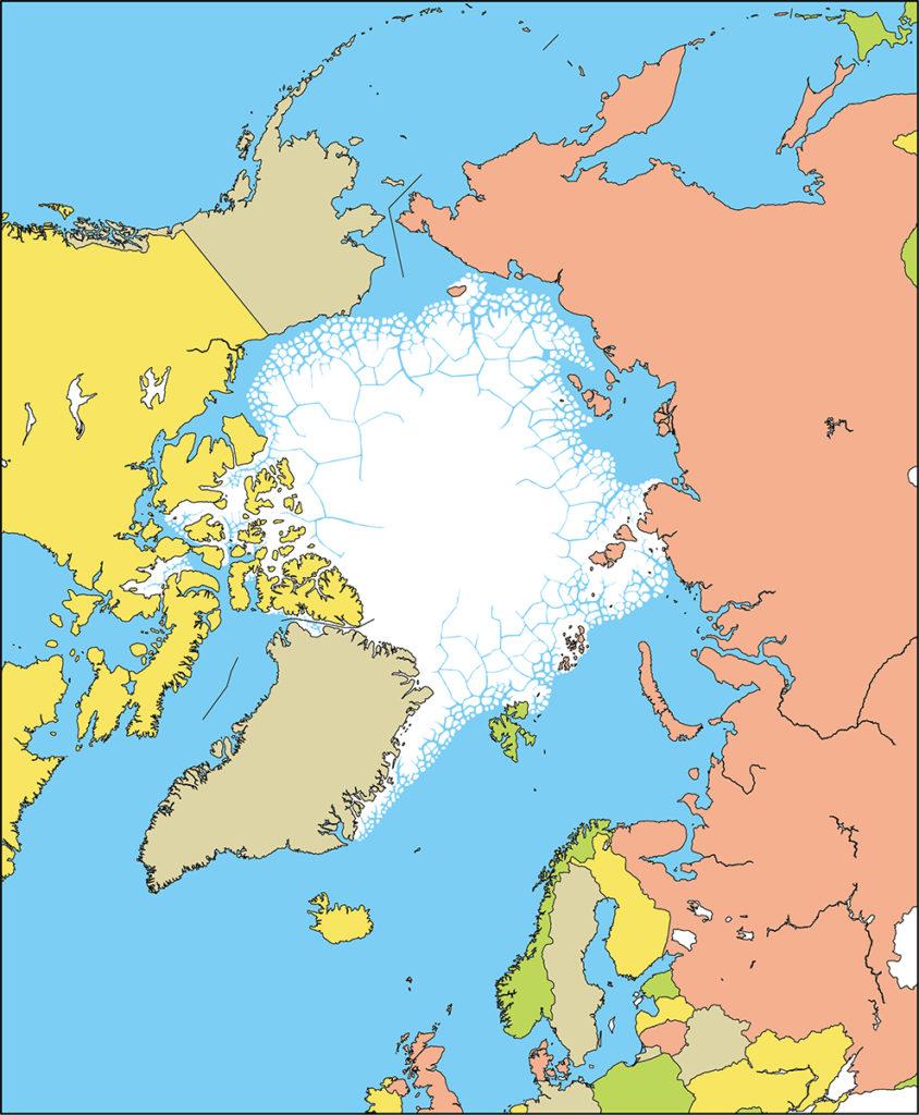 北極地域-国別-海