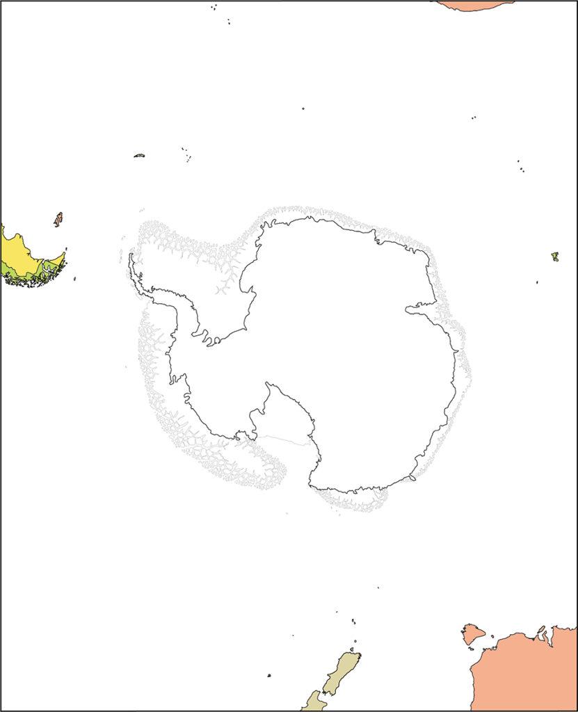 南極地域-国別