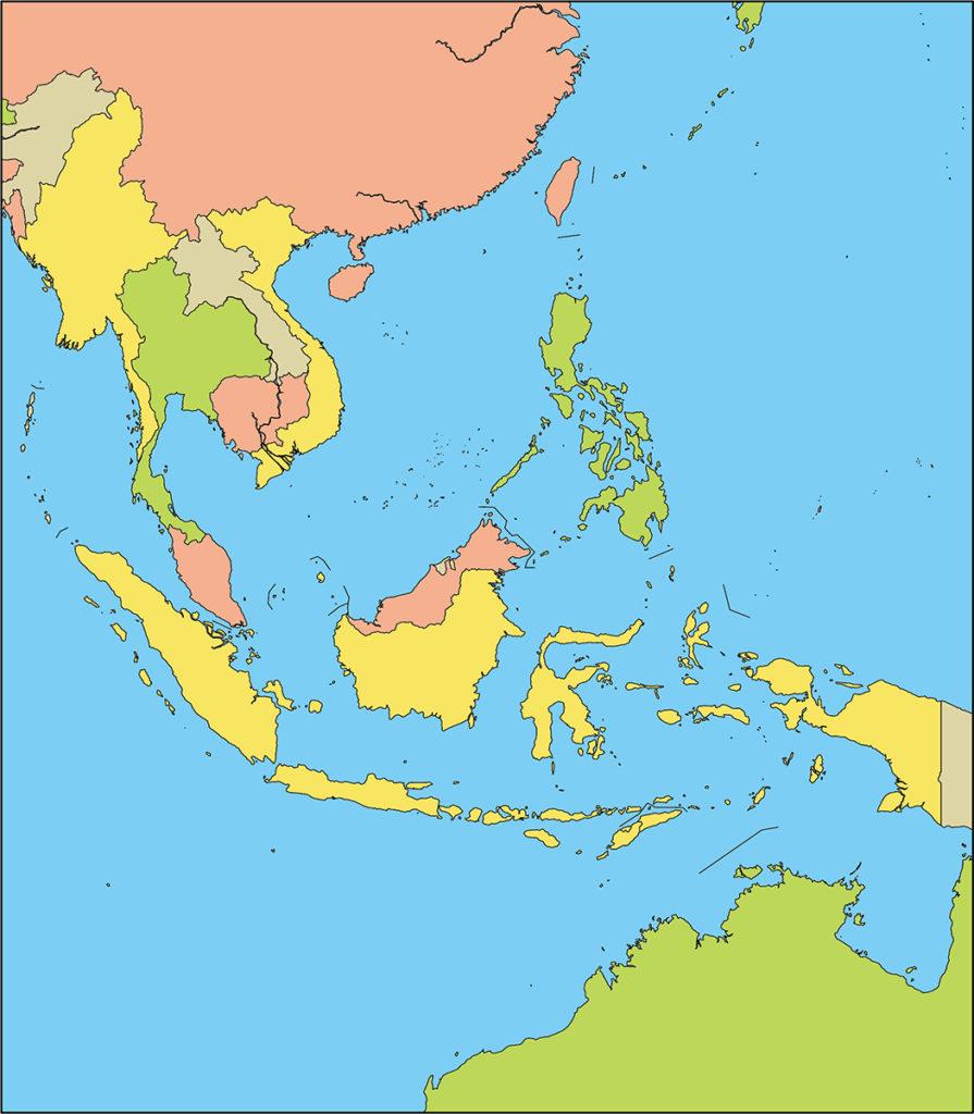 東南アジア地域-国別-海