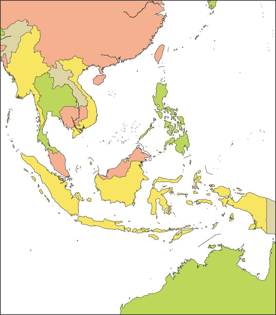 東南アジア地域-国別