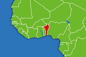 ベナン 地図