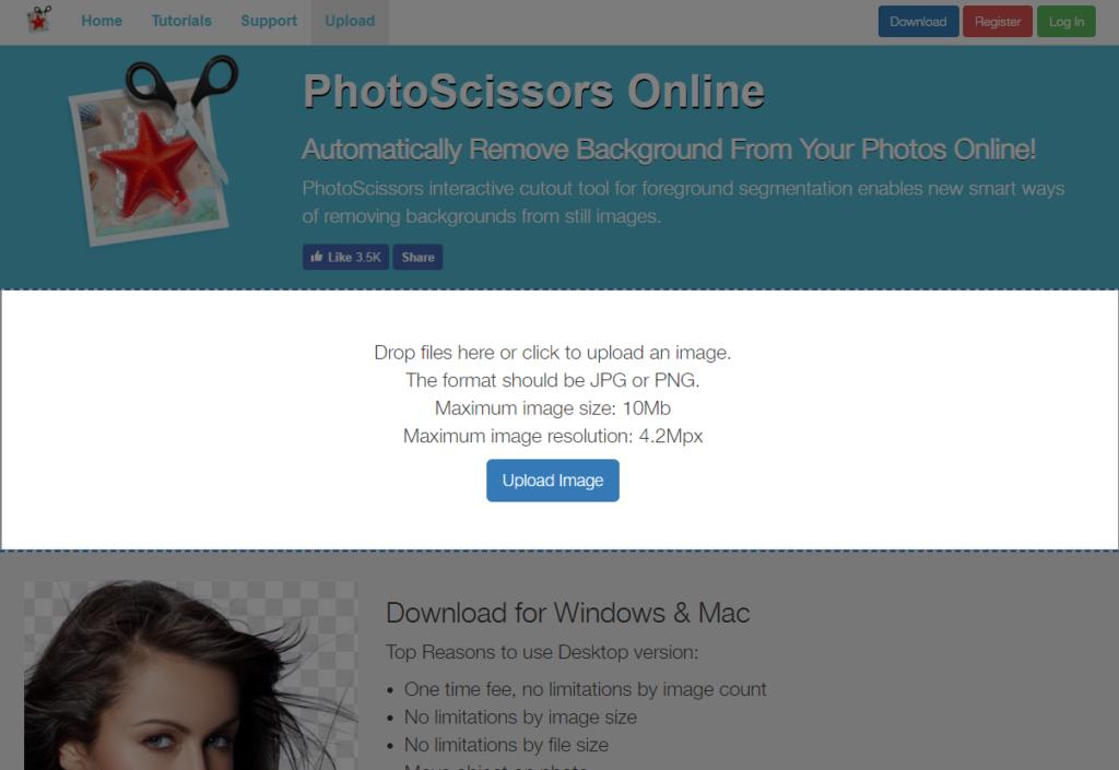 画像の背景を簡単に切り抜いてくれるサイト   毎日サイトを