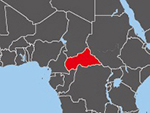 Location of Central African Republic