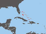 Location of Bahama