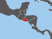 エルサルバドルの白地図 | Blank Maps of Respective Nations