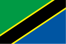 タンザニアの国旗画像