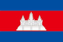 カンボジアの国旗画像