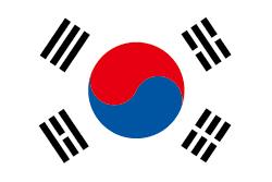 韓国の国旗画像