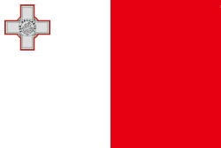 マルタの国旗画像