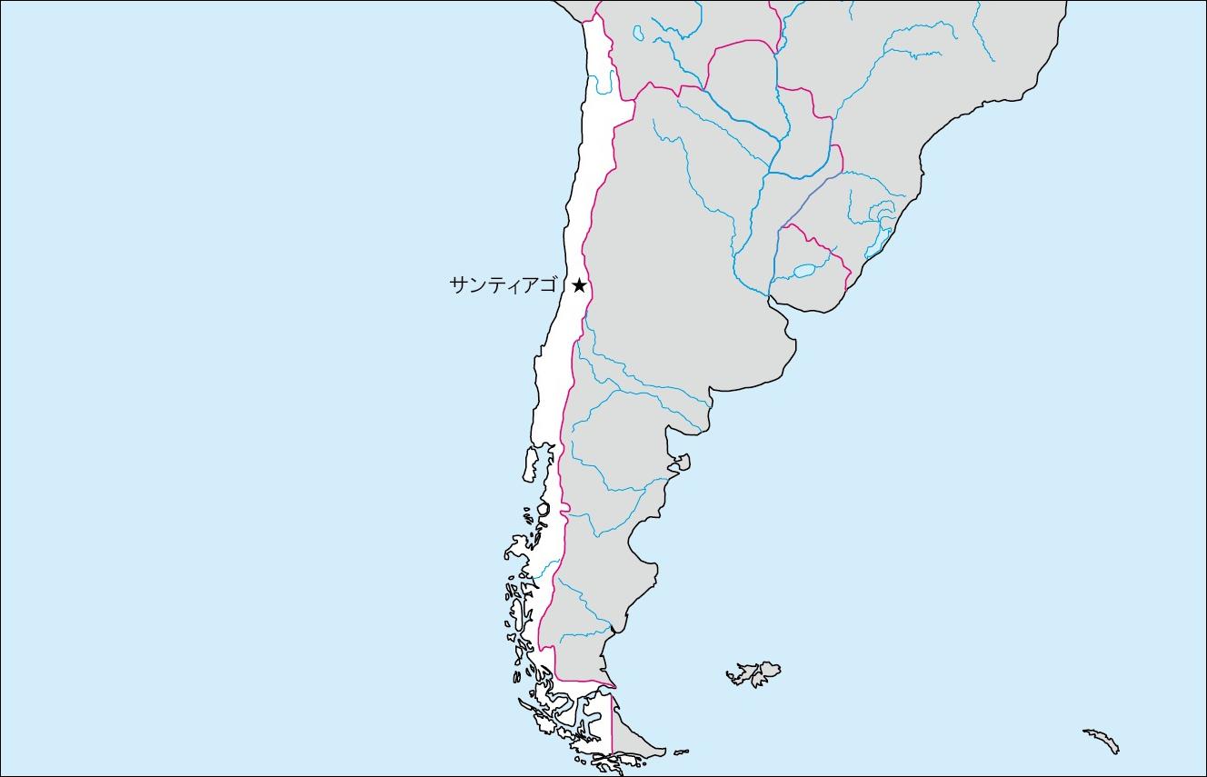 【世界地図|SEKAICHIZU】 白地図 ...