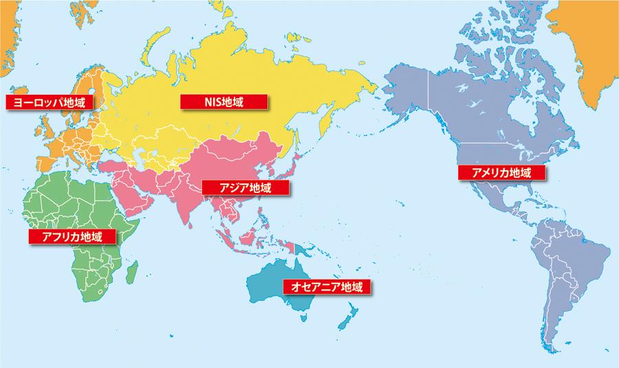 世界の白地図を地図から探す
