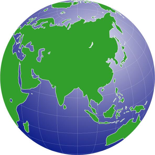 High Resolution Asia Pacific Globe : 国旗 ダウンロード : すべての講義