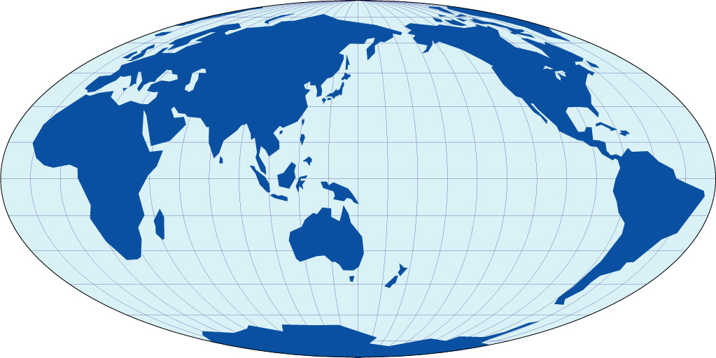 パソコンにダウンロードして ... : 白地図 世界 : 白地図
