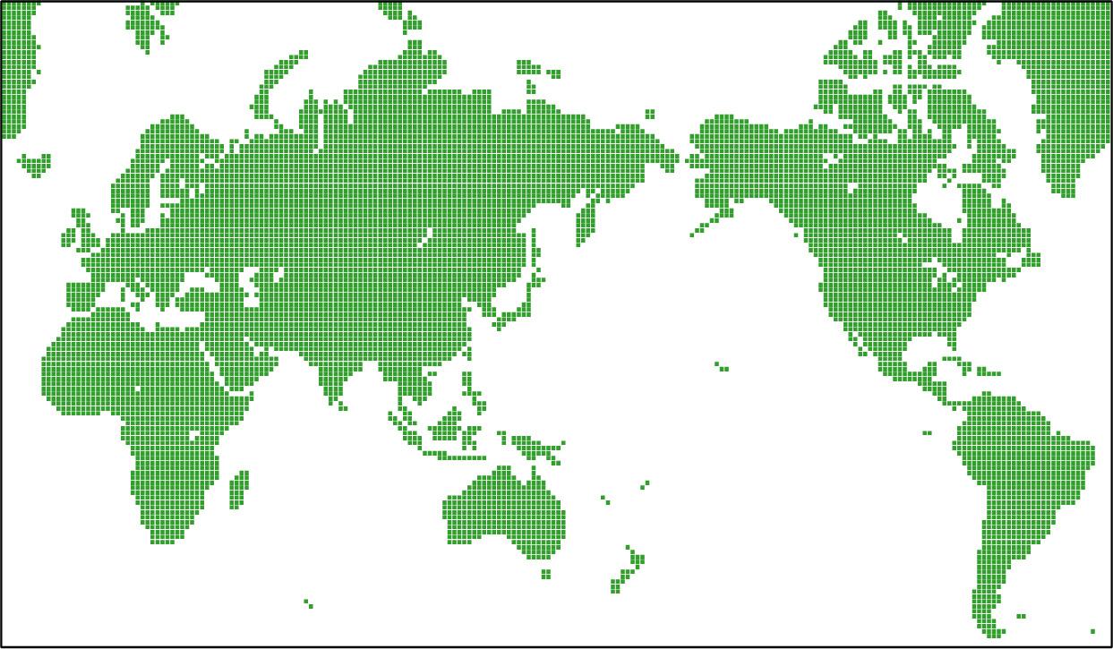 すべての講義 アフリカ地図 フリー : Square World Map